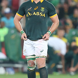 JOHANNESBURG, SOUTH AFRICA - OCTOBER 04: Duane Vermeulen of South Africa during The Castle Rugby Championship match between South Africa and New Zealand at Ellis Park on October 04, 2014 in Johannesburg, South Africa. (Credit Steve Haag/Gallo Images)