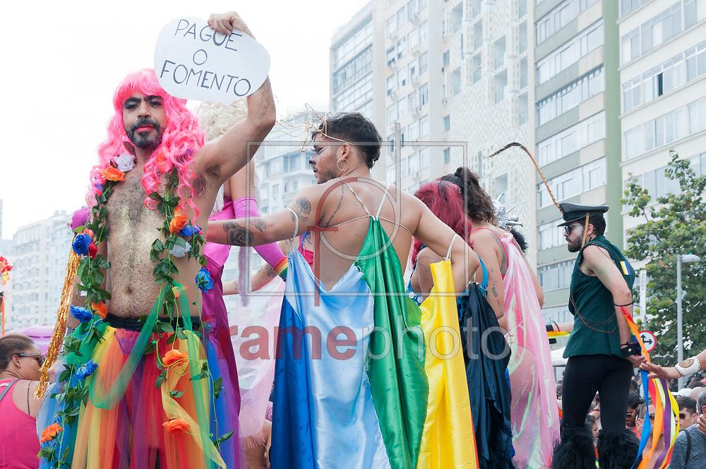 22 Parada LGBTI, na tarde deste domingo(19), em Copacabana, Zona Sul, RJ. Foto: Elder Moraes/Framephoto