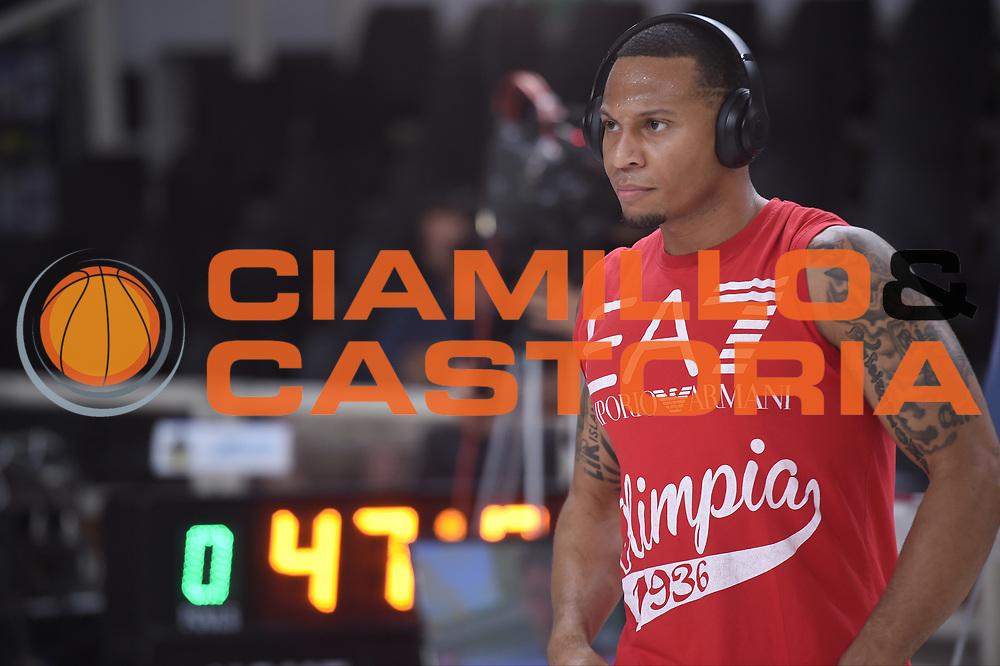 Jerrells Curtis<br /> Dolomiti Energia Trento - EA7 Emporio Armani Playoff Finale gara 6<br /> Legabasket serieA 2017-2018<br /> Trento 15/06/2018<br /> Foto GiulioCiamillo/Ciamillo-Castoria