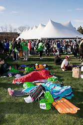 athletes village prior to race