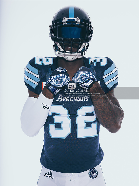 James Wilder Jr. (32) Toronto Argonauts. 2017 edition.
