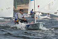 2016 Olympic Sailing Games-Rio-Brazil, ANP Copyright Olympische Spelen Zeilen, ls-HUN- Benjamin Vadnai- Laser Standaard