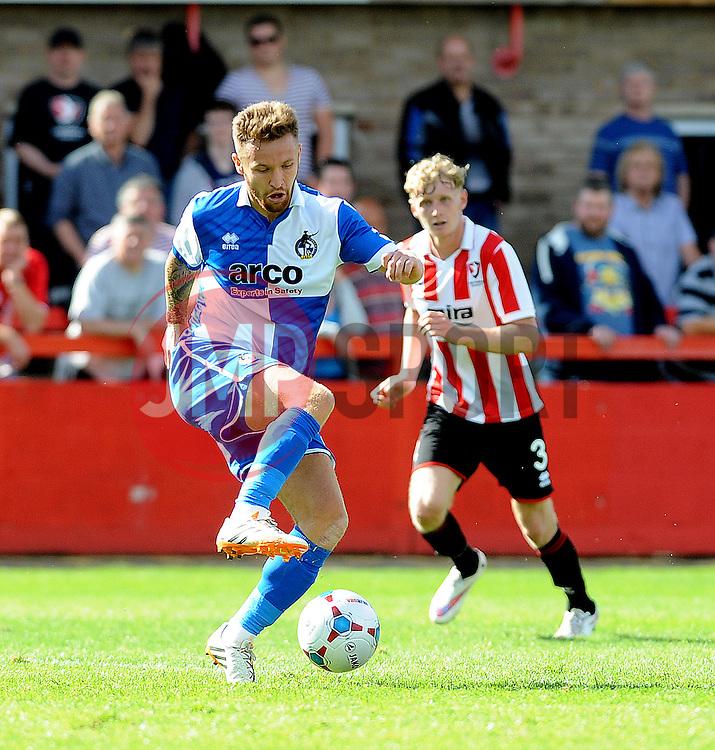 Matty Taylor of Bristol Rovers - Mandatory by-line: Neil Brookman/JMP - 25/07/2015 - SPORT - FOOTBALL - Cheltenham Town,England - Whaddon Road - Cheltenham Town v Bristol Rovers - Pre-Season Friendly