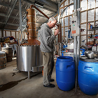 McHenry Distillery owner Bill McHenry tastes whisky at McHenry Distillery in Port Arthur, Tasmania, August 25, 2015. Gary He/DRAMBOX MEDIA LIBRARY