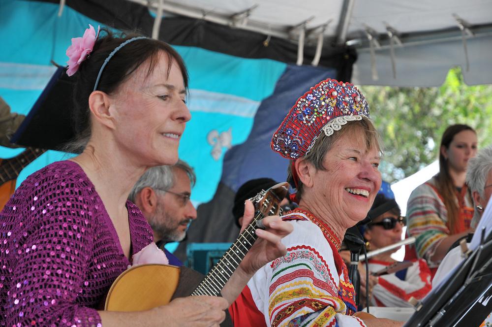 Arizona Balalaika Orchestra concert at 2013 Tucson Folk Festival. Event photography by Martha Retallick.