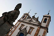Congonhas_MG, Brasil...Santuario de Bom Jesus do Matozinhos, com esculturas do mestre Aleijadinho (Antonio Francisco Lisboa)...The sanctuary of Bom Jesus do Matozinhos with sculptures of the master Aleijadinho (Antonio Francisco Lisboa)...Foto: LEO DRUMOND / NITRO