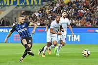 Gol Mauro Icardi Inter Rigore Goal celebration penalty  <br /> Milano 20-08-2017 Stadio Giuseppe Meazza <br /> Calcio Serie A Inter - Fiorentina Foto Andrea Staccioli Insidefoto