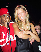 Damon Dash & Carolina<br />Victoria's Secret Post Show Party<br />The Armory<br />New York, NY, USA<br />Thursday, November 14, 2002<br />Photo By Celebrityvibe.com