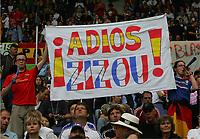 Fans Frankreich , <br /> Fussball WM 2006 Achtelfinale Spanien - Frankreich<br /> Spania - Frankrike<br /> Norway only