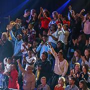 NLD/Amsterdam/20181025 - Finale The Talent Project 2018, familieleden op de tribune