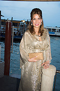 SONIA FALCONE, Dinner for Sonia Falcone to celebrate her participation in 56th Venice Biennale she represented Bolivia at the Pavilion of the Instituto Italo-Latinoamericano at the Arsenale. Dinner at the Ridotto Ballroom, Hotel Monaco and Grand Canal, Venice, Venice Biennale, Venice. 8 May 2015