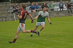 The Neale Oisin Connolly celebrates his goal.<br /> Pic Conor McKeown