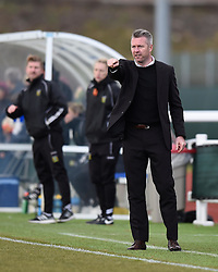 Willie Kirk manager of Bristol City Women - Mandatory by-line: Paul Knight/JMP - Mobile: 07966 386802 - 28/02/2016 -  FOOTBALL - Stoke Gifford Stadium - Bristol, England -  Bristol City Women v Yeovil Town Ladies - FA Cup fourth round