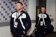 AFC Wimbledon goalkeeping coach Ashley Bayes arriving during the The FA Cup 3rd round match between Tottenham Hotspur and AFC Wimbledon at Wembley Stadium, London, England on 7 January 2018. Photo by Matthew Redman.