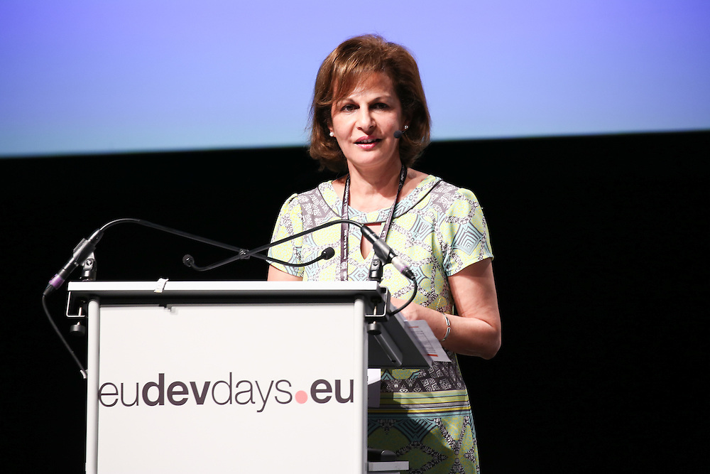 20160615 - Brussels , Belgium - 2016 June 15th - European Development Days - Working together in fragile states for better effectiveness - Shada Islam , Director of Policy , Friends of Europe © European Union