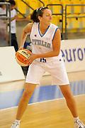 DESCRIZIONE : Ortona Giochi del Mediterraneo 2009 Mediterranean Games Italia Italy Albania Preliminary Women<br /> GIOCATORE : Emanuela Ramon<br /> SQUADRA : Nazionale Italiana Femminile<br /> EVENTO : Ortona Giochi del Mediterraneo 2009<br /> GARA : Italia Italy Albania<br /> DATA : 28/06/2009<br /> CATEGORIA : palleggio<br /> SPORT : Pallacanestro<br /> AUTORE : Agenzia Ciamillo-Castoria/G.Ciamillo