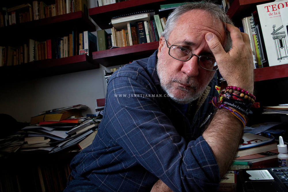 Inside his office, Mexico's most well-known and outspoken anti-violence activist Javier Sicilia, whose son was killed by violent criminals, appears exhausted and jaded by politicians' lip service to his organization's proposed Victim's Law. Discouraged, the journalist, activist, poet and father eventually stepped away from leading his peace organization.