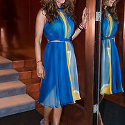 NLD/Amsterdam/20130907 - Modeshow najaar Mart Visser 2013, Quinty trustfull - van den Broek