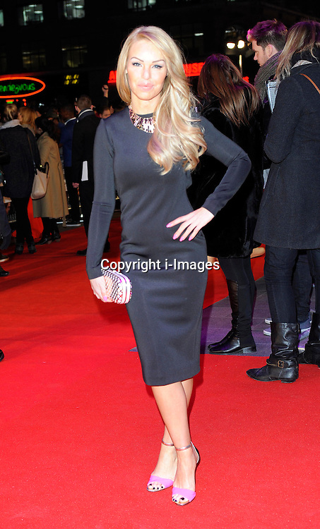 Katie Piper during the Flight UK film premiere, Empire Leicester Square, London, United Kingdom, January 17, 2013. Photo by i-Images.