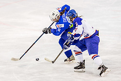 Svetina Tamara of Slovenia during hockey match between Slovenia and Great Britain in IIHF World Womens Championship, Division II, Group A, on April 4, 2018 in Ledena dvorana Maribor, Maribor, Slovenia. Photo by Ziga Zupan / Sportida