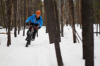 Rider - Jonah Clark, Race Name - 5+ Hours of Light Fat Tire Festival (Winter Solstice Race), Trail Name - Boogaloo Heights, Whitehorse Yukon