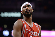 Feb 4, 2016; Phoenix, AZ, USA;  Houston Rockets guard Corey Brewer (33) looks up the court in the game against the Phoenix Suns at Talking Stick Resort Arena. Mandatory Credit: Jennifer Stewart-USA TODAY Sports