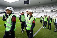 MARIANO - 23.03.2015 - Visite du Stade de Bordeaux -<br /> Photo : Caroline Blumberg / Icon Sport *** Local Caption ***