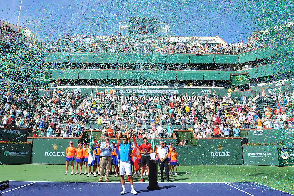 Novak Djokovic (Ser) def Milos Raonic (Can)
