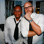 NLD/Amsterdam/20091118 - Uitreiking Esquire Best Geklede man 2009, Howard Komproe en James Veenhoff