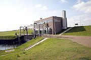 Dyke and pumping station, Maasdijk, Netherlands