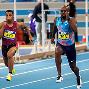 NLD/Apeldoorn/20180217 - NK Indoor Athletiek 2018, 60 meter heren, Remly Vry, Churandy Martina