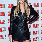 Ferne McCann Arrivals at Pretty Woman The Musical press night at Piccadilly Theatre on 2nd March 2020, London, UK.
