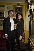 CHRIS COLERIDGE AND PLAVKA COLERIDGE, Launch of Crosley Bespoke Diamond Studs. Annabels. London. 15 November 2007. -DO NOT ARCHIVE-© Copyright Photograph by Dafydd Jones. 248 Clapham Rd. London SW9 0PZ. Tel 0207 820 0771. www.dafjones.com.