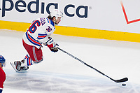 27 May 2014 New York Rangers Right Wing Mats Zuccarello 36 Skates with The Puck during Game Five of The Eastern Conference Final during The 2014 NHL Ice hockey men USA Stanley Cup Playoffs between The Montreal Canadians and The New York Rangers AT The Bell Centre in Montreal Quebec Canada NHL Ice hockey men USA May 27 Eastern Conference Final Rangers AT Canadiens Game 5 <br />