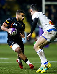 Ollie Lawrence of Worcester Warriors - Mandatory by-line: Robbie Stephenson/JMP - 17/01/2020 - RUGBY - Sixways Stadium - Worcester, England - Worcester Warriors v Castres Olympique - European Rugby Challenge Cup