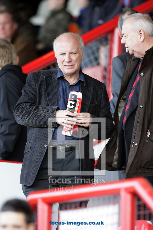 London - Saturday, March 14th, 2009: Brentford Chairman Greg Dyke, who got married to his long term partner Sue Howes this week, during the Coca Cola League Two match at Griffin Park, London. (Pic by Mark Chapman/Focus Images)