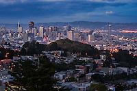 San Francisco Skyline, Evening