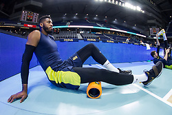 March 2, 2018 - Madrid, Madrid, Spain - Jason Thompson during Fenerbahce Dogus Istanbul victory over Real Madrid (83 - 86) in Turkish Airlines Euroleague regular season game (round 24) celebrated at Wizink Center in Madrid (Spain). March 2nd 2018. (Credit Image: © Juan Carlos Garcia Mate/Pacific Press via ZUMA Wire)