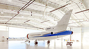 Dassault Falcon 900B, photographed at the VF corporate hangar in Greensboro, NC on 2 October, 2017.  Created by aviation photographer John Slemp of Aerographs Aviation Photography. Clients include Goodyear Aviation Tires, Phillips 66 Aviation Fuels, Smithsonian Air & Space magazine, and The Lindbergh Foundation. Specialising in high end commercial aviation photography and the supply of aviation stock photography for commercial and marketing use.