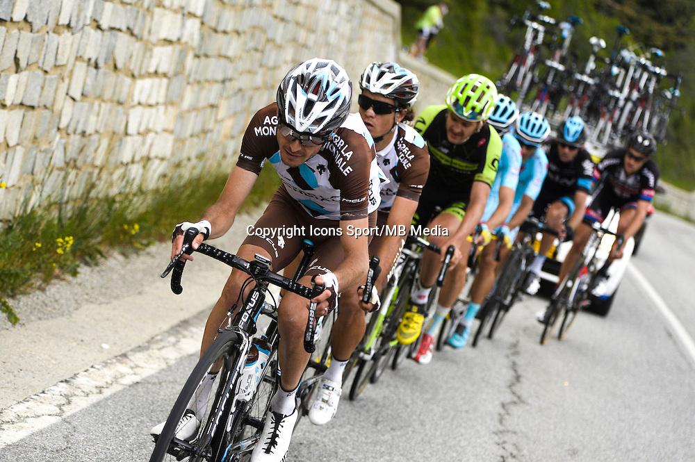 Hubert Dupont - Ag2r - 30.05.2015 - Tour d'Italie - Etape 20 : Saint Vincent / Sestriere<br />Photo : Sirotti / Icon Sport