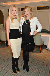 Left to right, MARISSA MONTGOMERY and MEREDITH OSTROM at the launch of Mrs Alice in Her Palace - a fashion retail website, held at Fortnum & Mason, Piccadilly, London on 27th March 2014.