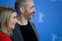 Actress, Screenwriter Nele Mueller-Stöfen and Director, Screenwriter, Edward Berger at the photocall for the film All My Loving at the 69th Berlinale International Film Festival, on Saturday 9th February 2019, Hotel Grand Hyatt, Berlin, Germany.