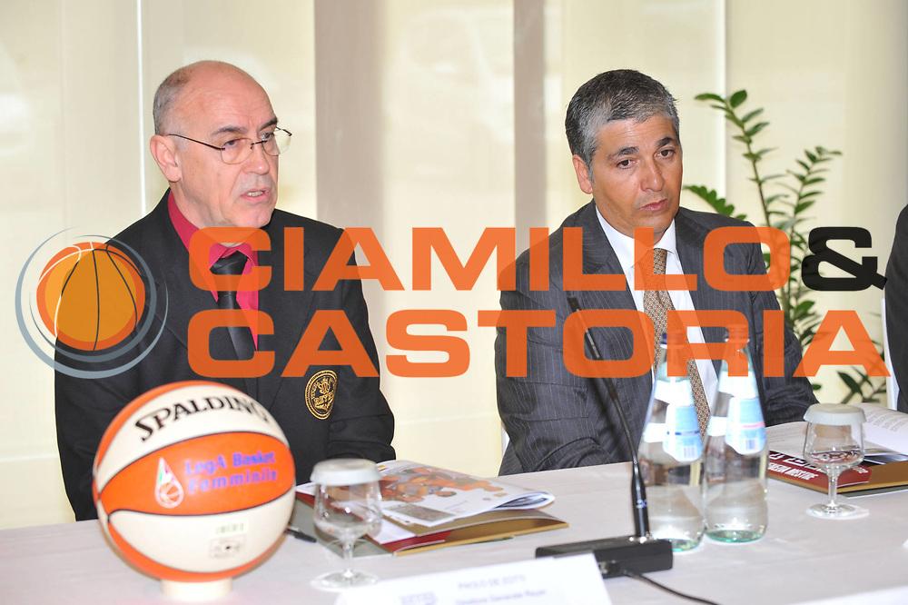 DESCRIZIONE : Venezia Lega A1 Femminile 2009-2010 Coppa Italia Conferenza Stampa <br /> GIOCATORE : Paolo De Zotti Pasquale Panza<br /> SQUADRA : <br /> EVENTO : Campionato Lega A1 Femminile 2009-2010 <br /> GARA : <br /> DATA : 04/03/2010 <br /> CATEGORIA : <br /> SPORT : Pallacanestro <br /> AUTORE : Agenzia Ciamillo-Castoria/M.Gregolin<br /> Galleria : Lega Basket Femminile 2009-2010 <br /> Fotonotizia : Venezia Campionato Italiano Femminile Lega A1 2008-2009 Coppa Italia Conferenza Stampa<br /> Predefinita :