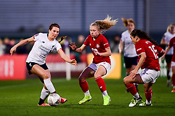 Rhiannon Roberts of Liverpool Women is marked by Katie Robinson of Bristol City - Mandatory by-line: Ryan Hiscott/JMP - 19/01/2020 - FOOTBALL - Stoke Gifford Stadium - Bristol, England - Bristol City Women v Liverpool Women - Barclays FA Women's Super League