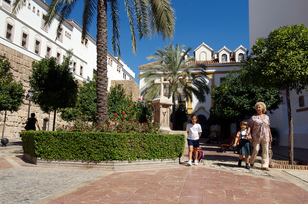 Casco Antiguo, the Old Town, Marbella, Costa del Sol, Spain