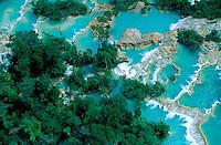 Mexique, Chiapas, Agua Azul // Mexico, Chiapas, Agua Azul waterfall
