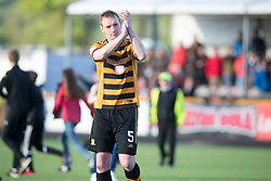 Alloa Athletic's Andrew Graham at the end. Athletic 4 v 3 Brechin City (Brechin won 5-4 on penalties), Ladbrokes Championship Play-Off 2nd Leg at Alloa Athletic's home ground, Recreation Park, Alloa.