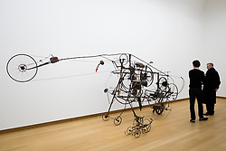 Sculpture Gismo by Jean Tinguely at Stedelijk Museum of contemporary art in Amsterdam The Netherlands