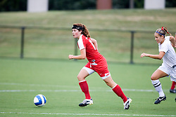 New Mexico Lobos MF/F Alexis Ball (14)..The New Mexico Lobos faced the Arizona Wildcats in the first game of the 2007 Nike Soccer Classic held at Klockner Stadium in Charlottesville, VA on August 14, 2007.  The Wildcats defeated the Lobos 4-1.