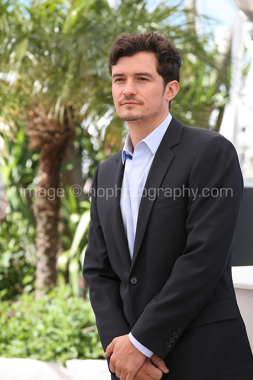 Actor Orlando Bloom at the Zulu film photocall Cannes Film Festival Sunday 27th May 2013